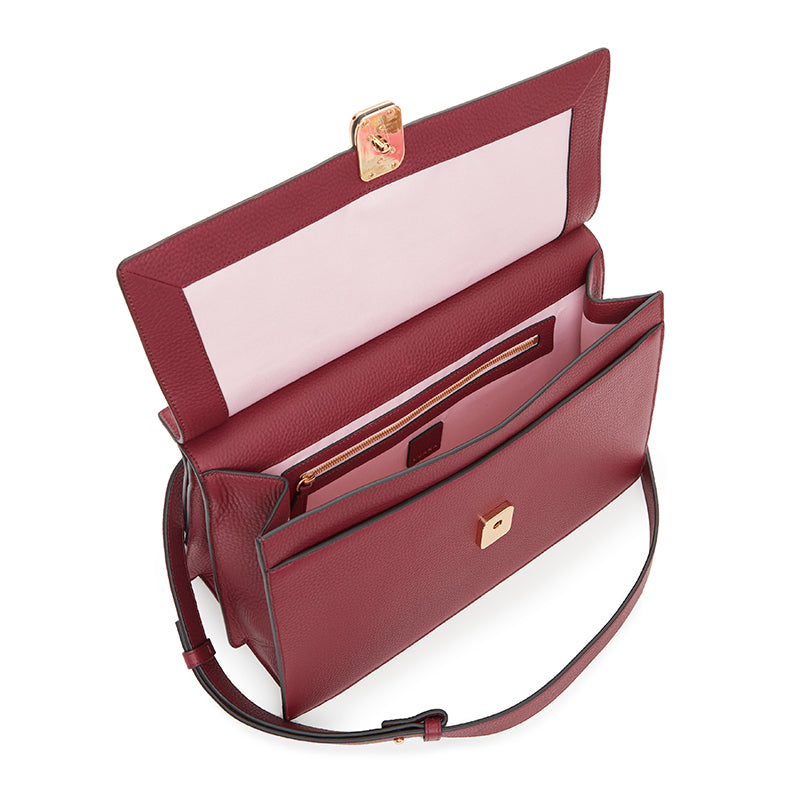 Rita Satchel (Plum)