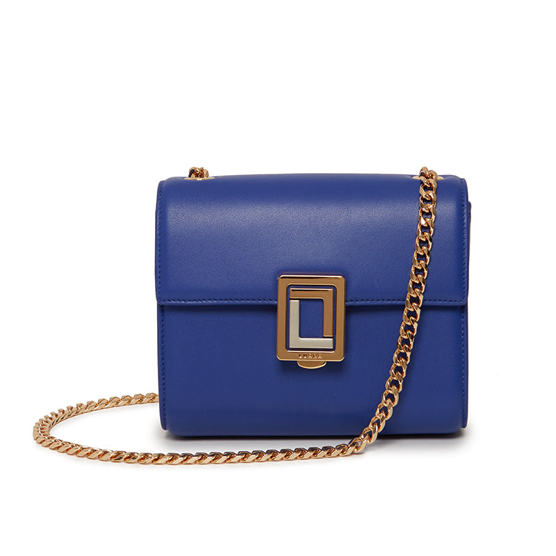 Marella Mini Shoulder Bag in Ultramarine