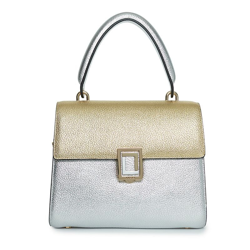 Paley Mini Satchel in Gold/Silver