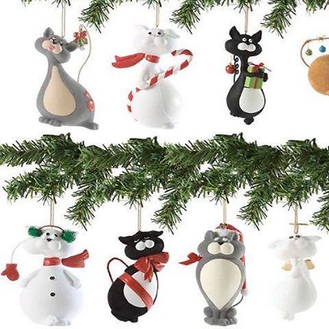 9 Lives Kitty Cat Ornament