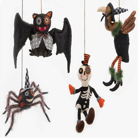 Animated Halloween Plush Characters