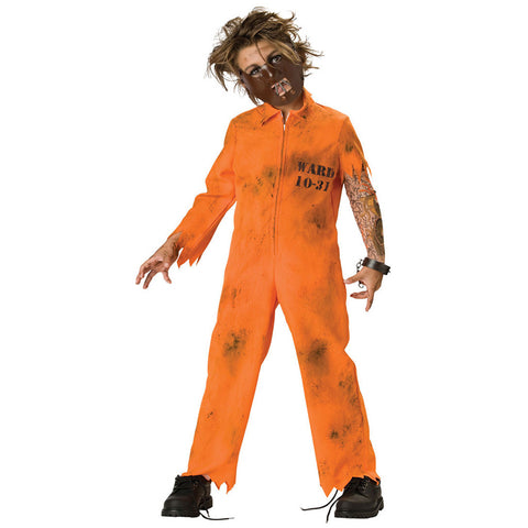 Cell Block Psycho Boys or Girls Costume - 3PC
