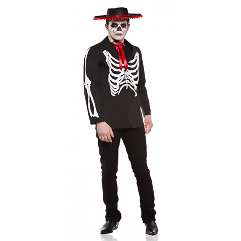 Diego Day of the Dead Mens Costume