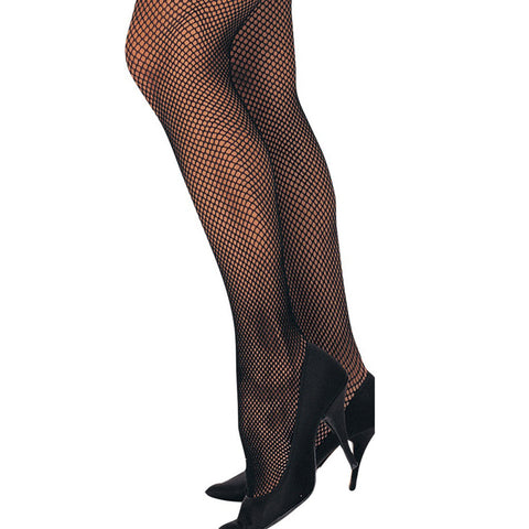 Black Plus Size Fishnet Tights