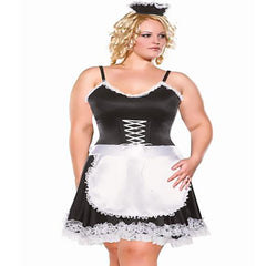 Frisky French Maid Plus Costume