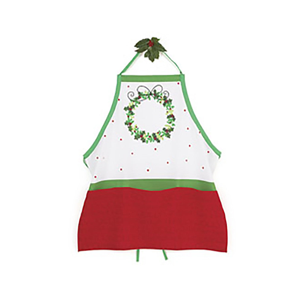 Holly Jolly Christmas Adult Apron