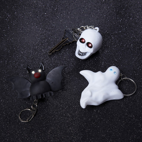Halloween Key Chain with Lights and Sound
