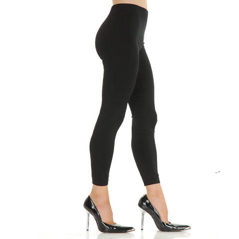 Womens Black Spandex Leggings