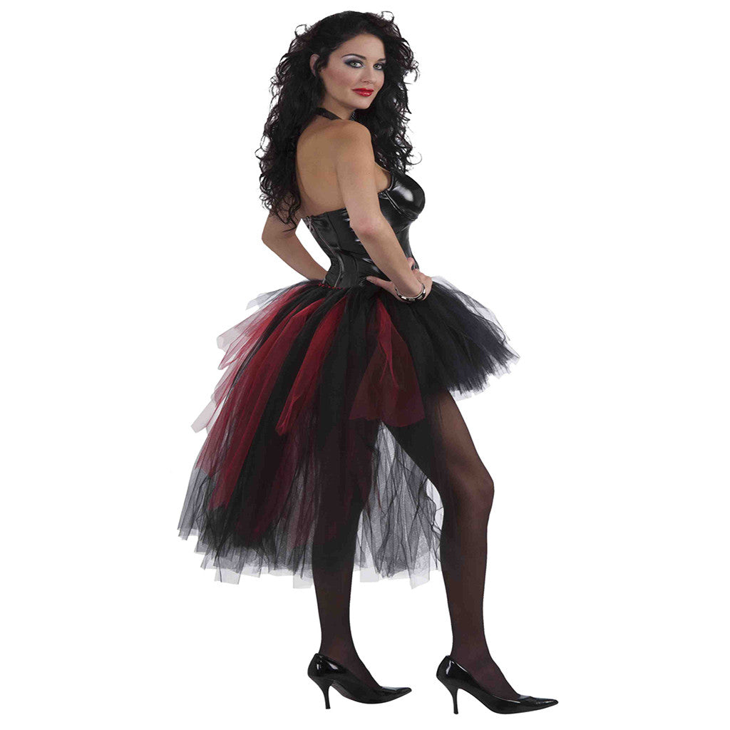 Womens Vampiress Burlesque Tutu