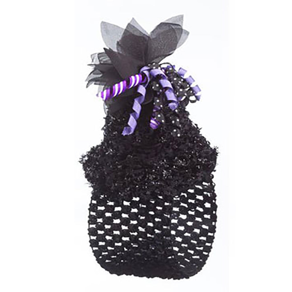 Black Baby Headband with Bow