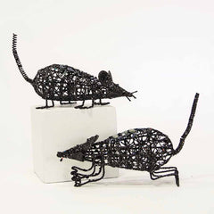 Black Jeweled Wire Rats