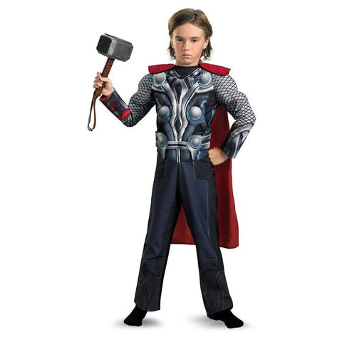 Avengers Thor Light Up Muscle Boys Costume