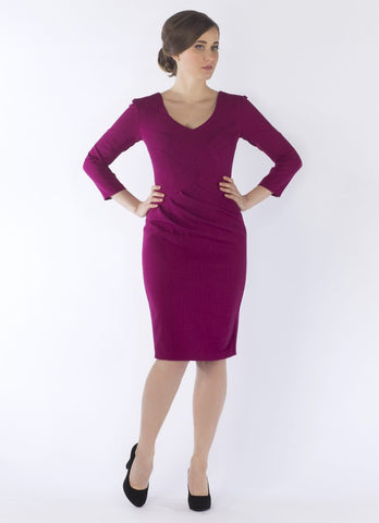Discount Event Now £50.....lucy dress magenta