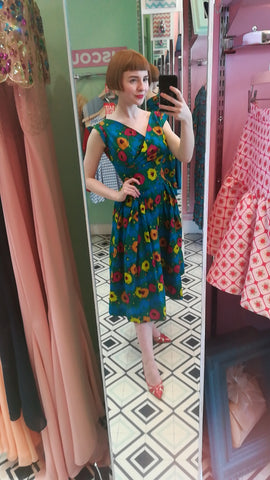 £30 sale Florence 'Floral Brights' Prom Dress