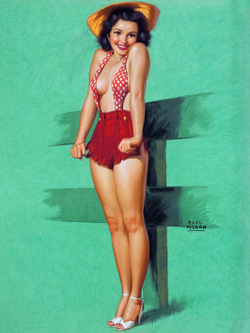 pin up for black hair