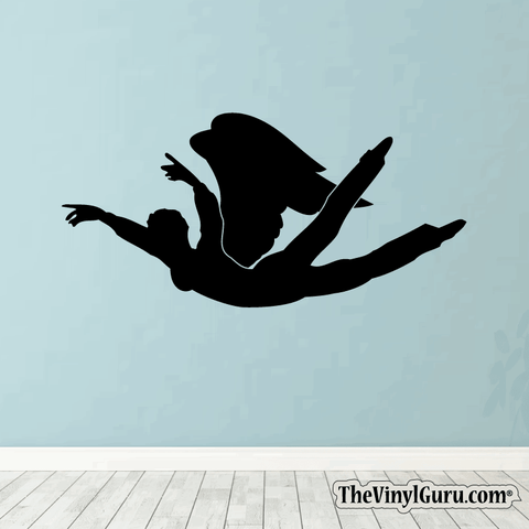 Sexy Angel Pin-Up Girl Wall Decal #00006
