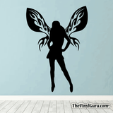 Sexy Angel Pin-Up Girl Wall Decal #00014