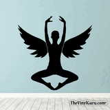 Sexy Angel Pin-Up Girl Wall Decal #00019