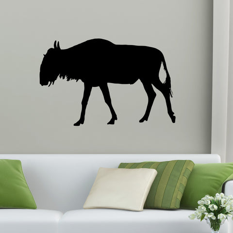 Wildebeest Wall Decal Sticker 19