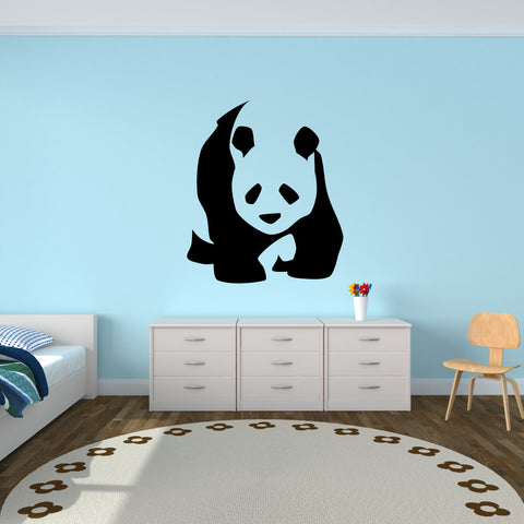 Panda Bear Wall Decal Sticker 45