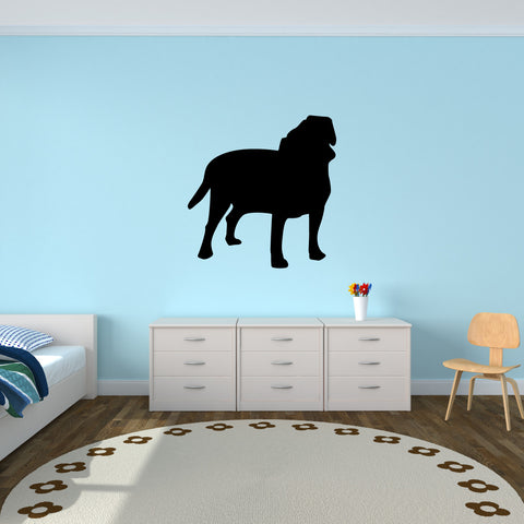 Dog Wall Decal Sticker 52