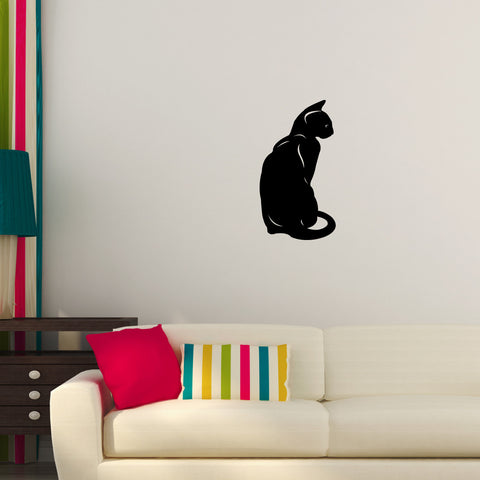 Cat Kitten Wall Decal Sticker 66