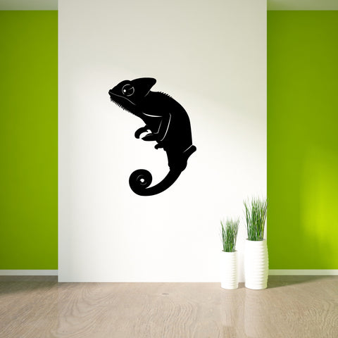 Chameleon Reptile Wall Decal Sticker 72
