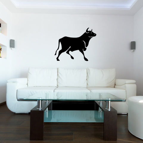 Bull Taurus Toro Wall Decal Sticker 74