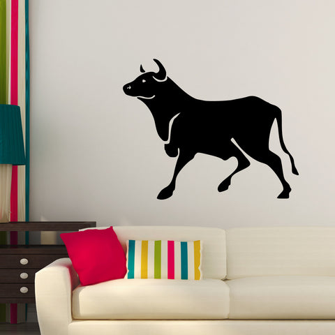 Bull Taurus Toro Wall Decal Sticker 75