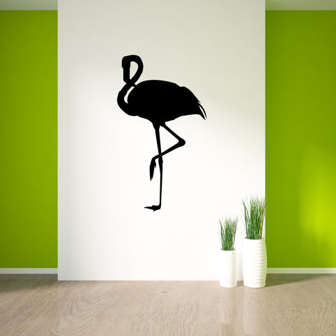 Flamingo Bird Wall Decal Sticker 78