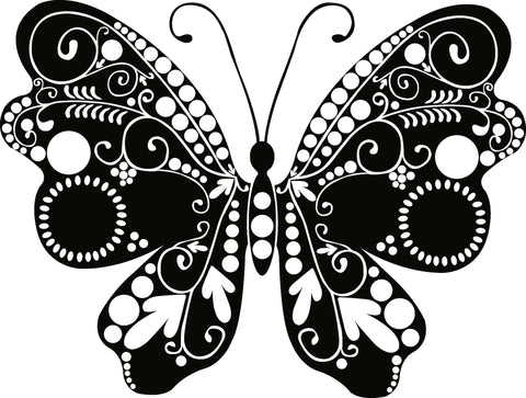 Butterfly Insect Wall Decal Sticker 82