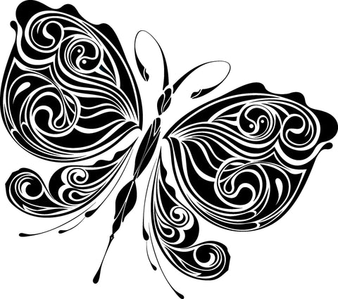 Butterfly Insect Wall Decal Sticker 106
