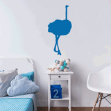 Ostrich Bird Wall Decal Sticker Vinyl Art 14