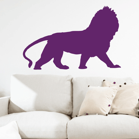 Lion Wall Decal Sticker Vinyl Art 8