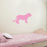 Lion Cub Wall Decal Sticker Vinyl Art 9