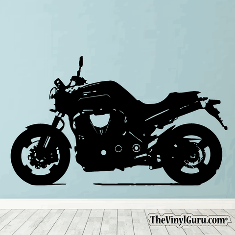 Motorcycle Wall Decal - Sport Bike Sticker #00002