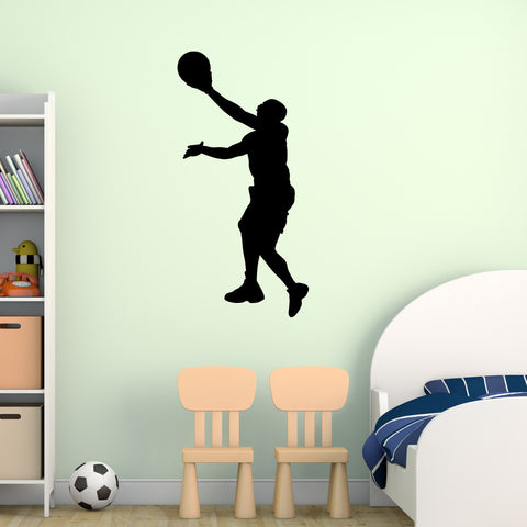 Basketball Wall Decal Sticker 7