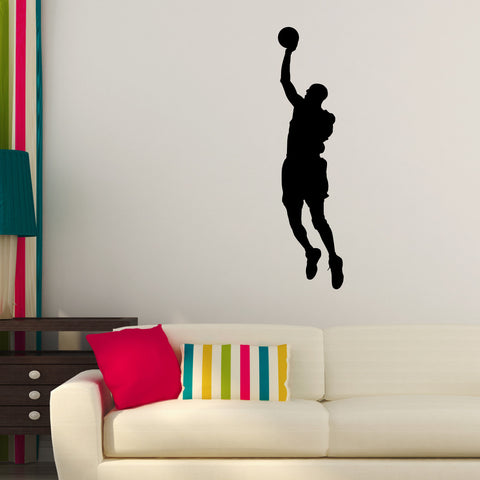 Basketball Wall Decal Sticker 16