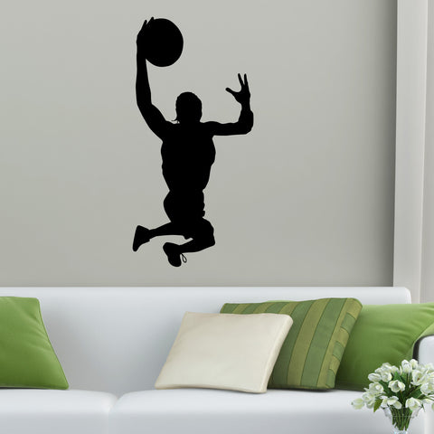 Basketball Wall Decal Sticker 45