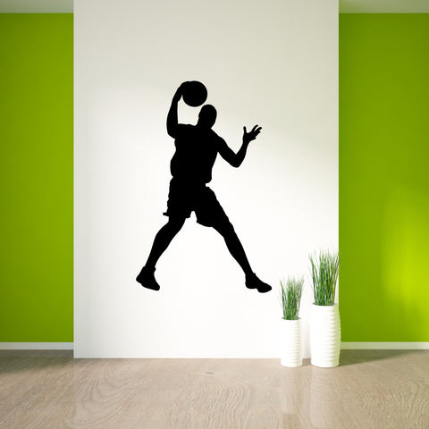 Basketball Wall Decal Sticker 48