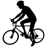 Bicycling Cycling Bicycle Wall Decal Sticker 4