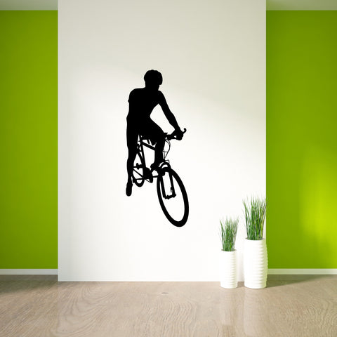 Bicycling Cycling Bicycle Wall Decal Sticker 5