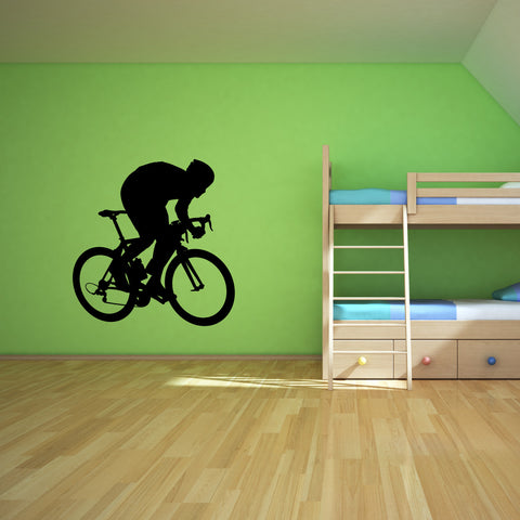 Bicycling Cycling Bicycle Wall Decal Sticker 6
