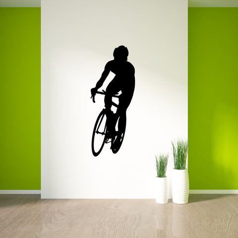 Bicycling Cycling Bicycle Wall Decal Sticker 7