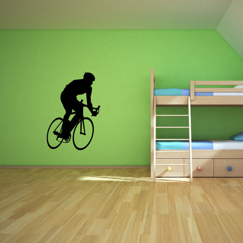 Bicycling Cycling Bicycle Wall Decal Sticker 9