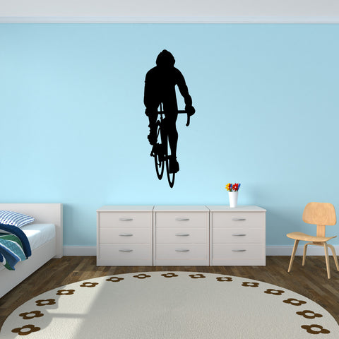 Bicycling Cycling Bicycle Wall Decal Sticker 10