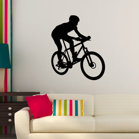 Bicycling Cycling Bicycle Wall Decal Sticker 11