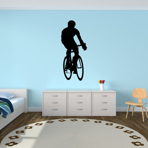 Bicycling Cycling Bicycle Wall Decal Sticker 13