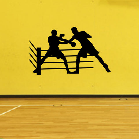 Boxing Boxer Wall Decal Sticker 1