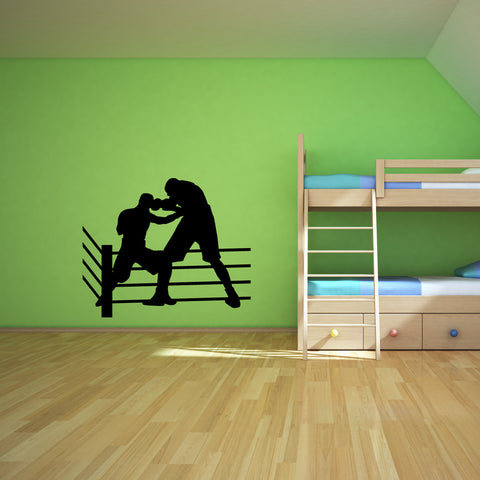 Boxing Boxer Wall Decal Sticker 2